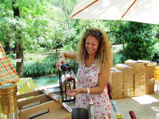 wine tasting correns