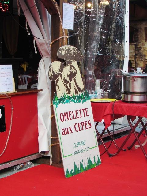 la defense, omelette