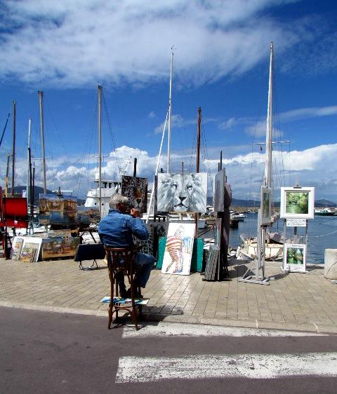 St. Tropez Paintings