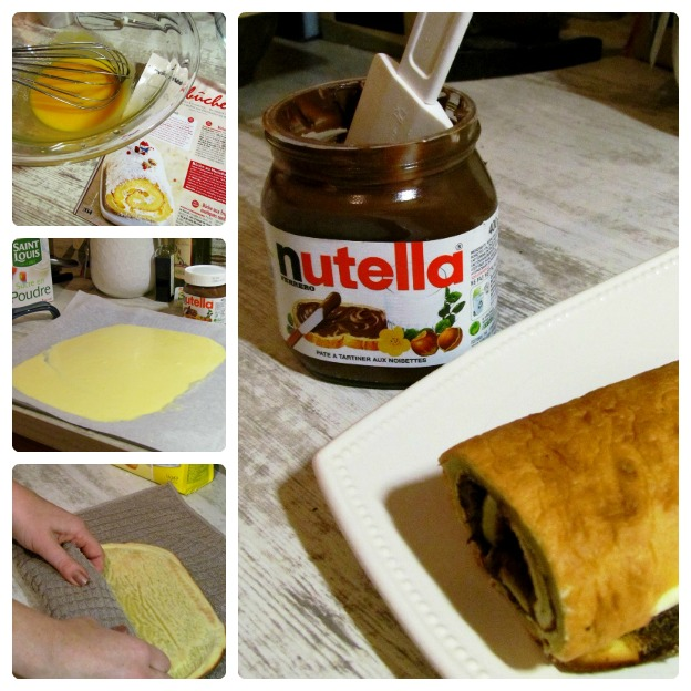 Nutella BucheCollage