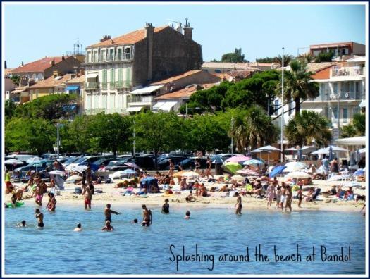 Bandol beach