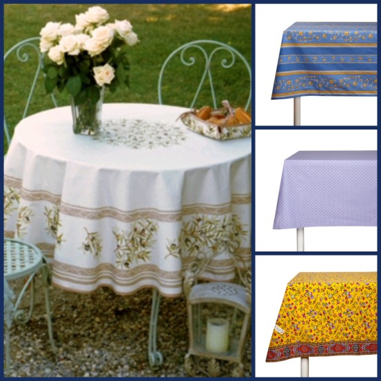 Tableclothes Collage