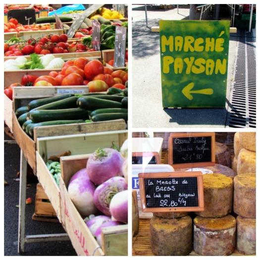 Arles Market Collage