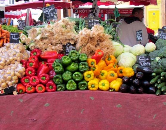 Aix en Provence Saturday Market