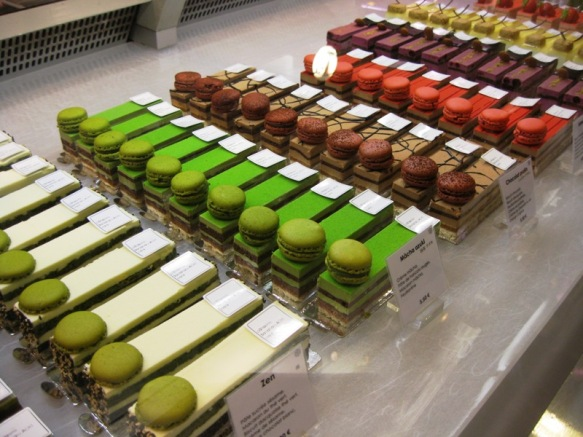 Pretty pastries at Galeries Lafayette