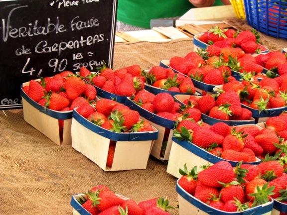 Strawberries Bandol