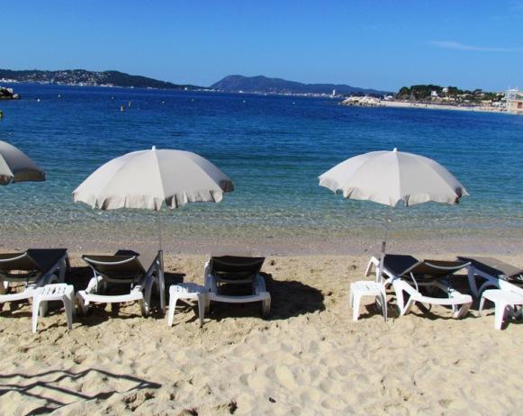 Mourillon beach