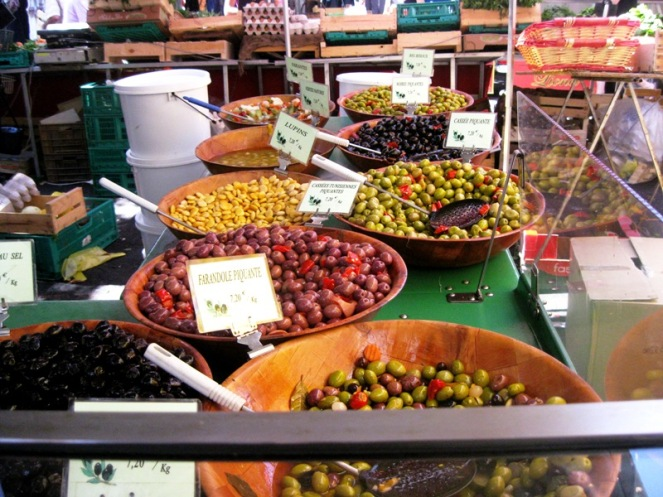 Toulon olives