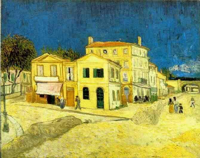"""Van Gogh's """"Yellow House"""" in Arles"""